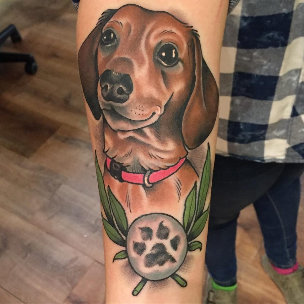 23 Dog Paw Print Tattoo Ideas That Will Inspire Your Next Ink
