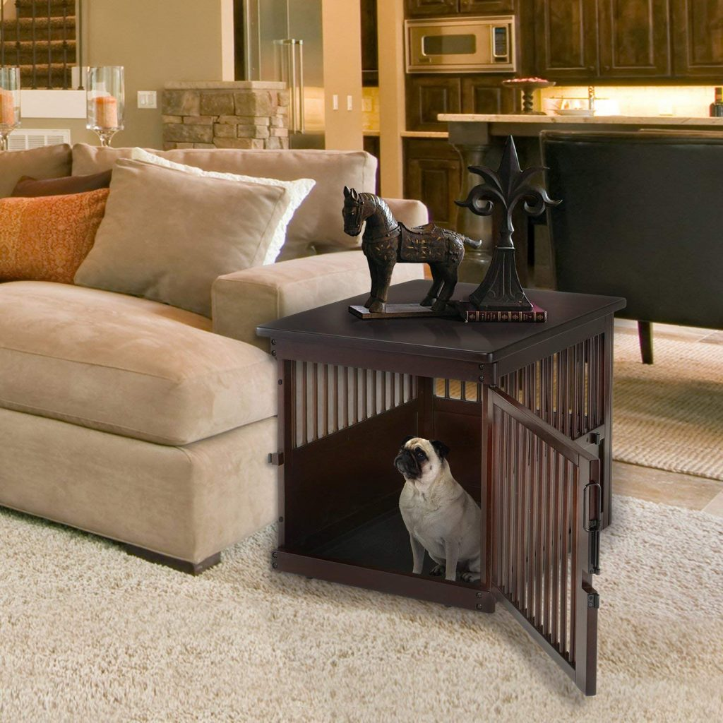 Dog Crate End Table – Fashion Meets Function